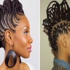 Belle coiffure femme africaine