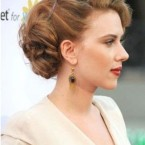 Chignon retro chic