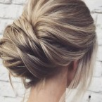 Chignon simple et chic