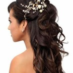 Coiffure femme cheveux long mariage