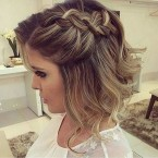 Coiffure femme mariage cheveux courts
