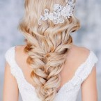 Coiffure mariage glamour