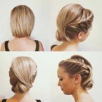 Coiffure mariage simple cheveux courts