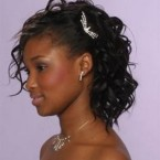 Coiffure pour mariage africain