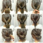 Faire un chignon simple