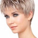 Model de coupe cheveux court