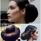 Chignon fashion