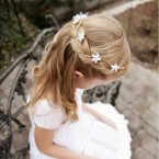Coiffure pour mariage fille
