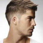 Coupe de cheveux homme simple