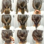 Idee coiffure mariage simple