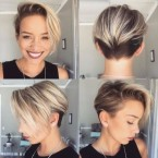 Mode cheveux courts femme