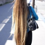 Cheveux tres long