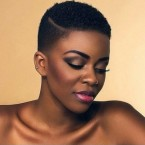 Coiffure coupe courte africaine