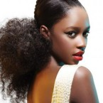 Coiffure tresses afro antillaise