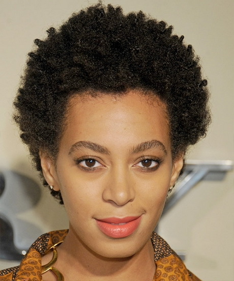 Coiffure afro court