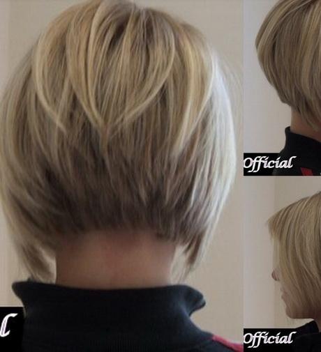 Coupe cheveux court plongeant
