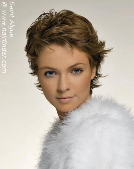 Modele de coiffure courte pour visage rond