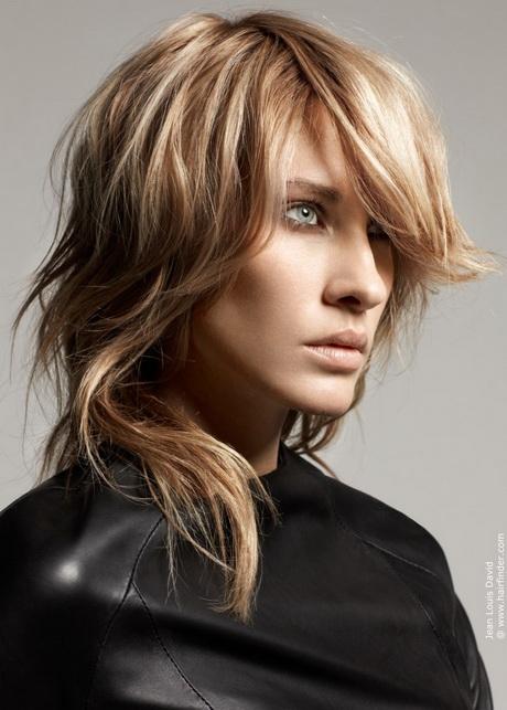 Modele de coiffure mi long degrade