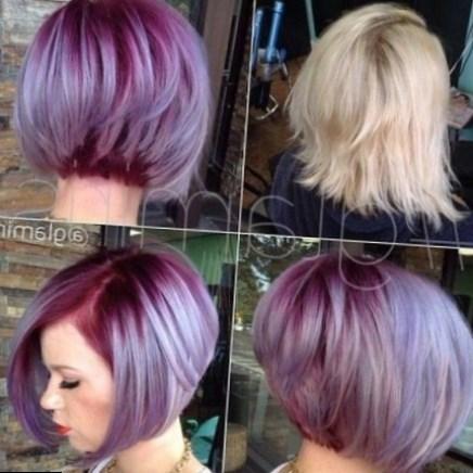 Modele coiffure femme carre plongeant