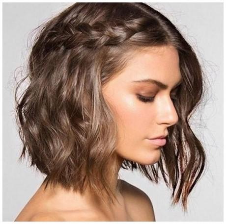 Tuto coiffure cheveux court carré plongeant