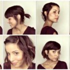 Cheveux courts coiffure