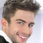 Coiffure homme mariage