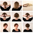 Idee coiffure cheveux courts