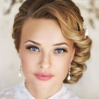 Coiffure mariage cheveux courts 2017