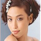 Idee coiffure cheveux court pour mariage