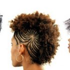 Style afro coiffure