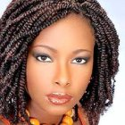 Model coiffure afro