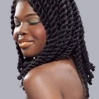 Coiffure dame africaine