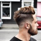 Coiffure homme hiver