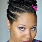 Cheveux afro coiffure