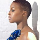 Coupe cheveux afro court