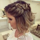 Coiffure tresse cheveux long mariage