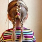 Coiffure fille simple