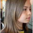 Coupe enfant fille mi long