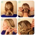 Tuto coiffure cheveux long mariage