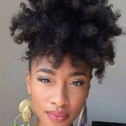 Coupe afro tresse